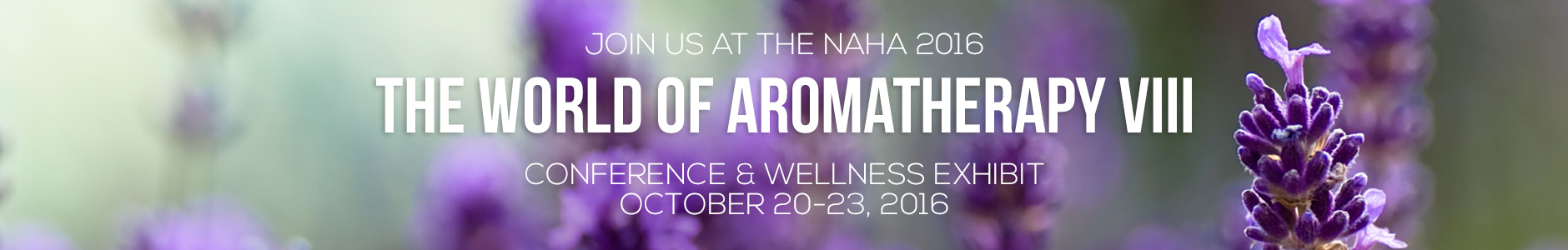 Join us for the NAHA 2016 Conference in October