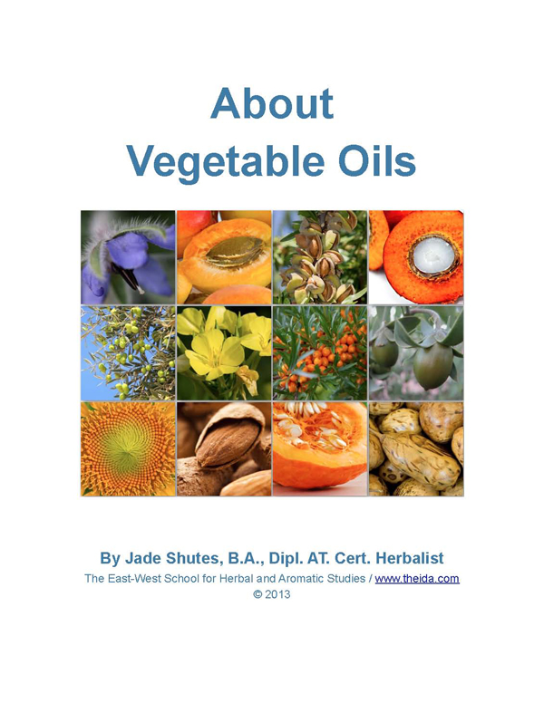 About Vegetable Oils E-Book
