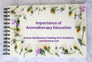 Aromatherapy Essential Oils NAHA