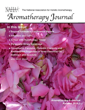 NAHA's Aromatherapy Journal Autumn 2014.3
