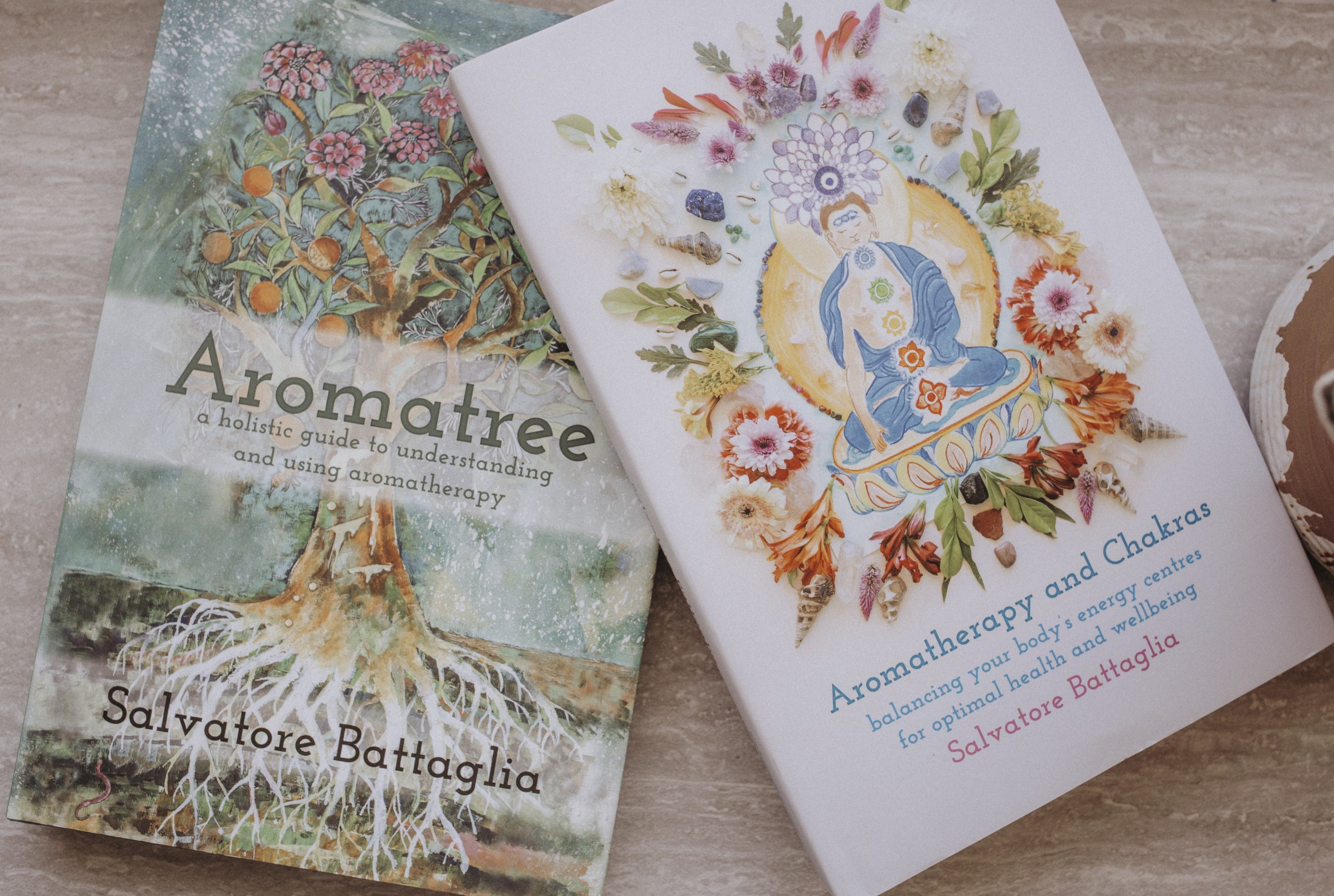 Aromatree & Aromatherapy and Chakras // Purchase both books together, and receive FREE shipping (USA only)