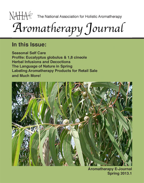 Aromatherapy Journal Issue 2013.1