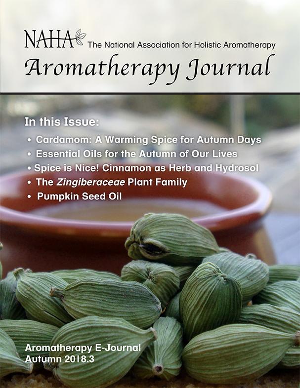 NAHA Aromatherapy Journal Autumn 2018.3