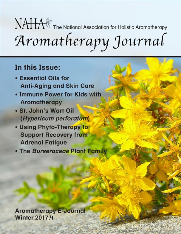 NAHA Aromatherapy Journal Winter 2017.4