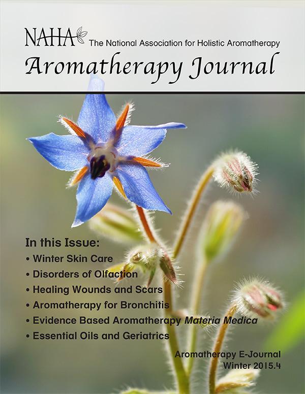 NAHA's Aromatherapy Journal Winter 2015.4