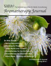 NAHA Aromatherapy Journal Spring 2016.1