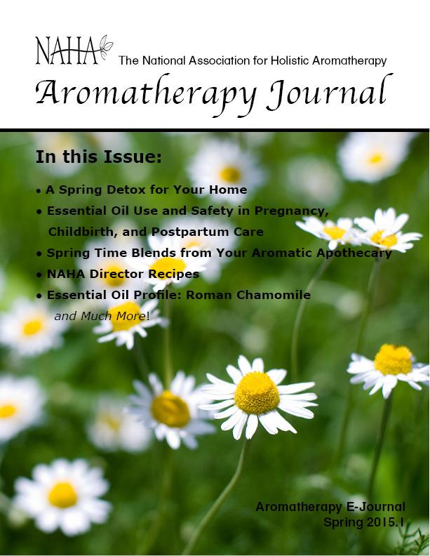 NAHA's Aromatherapy Journal Spring 2015.1