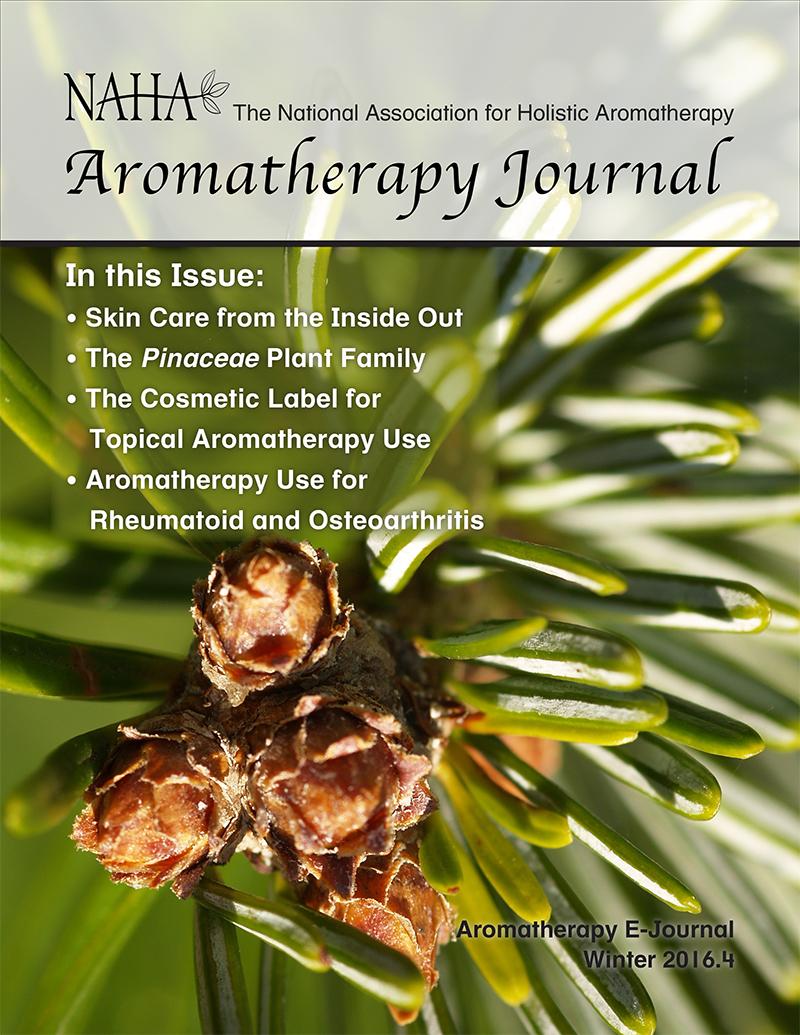 NAHA Aromatherapy Journal Winter 2016.4