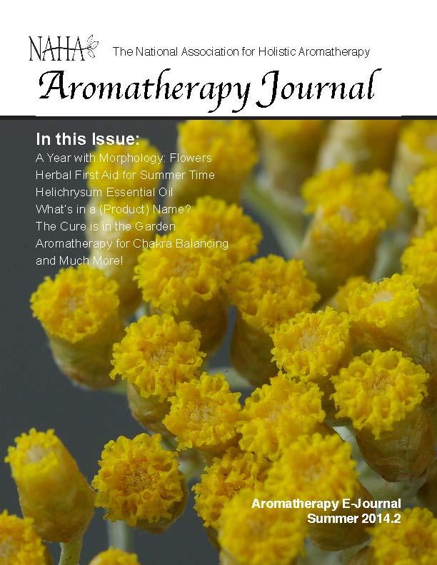 NAHA's Aromatherapy Journal Summer 2014.2