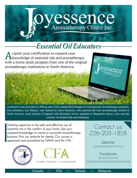 Joyessence Aromatherapy Centre Inc.