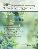 NAHA Aromatherapy Journal Fall 2016.3