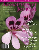 Aromatherapy Journal Issue 2006.1