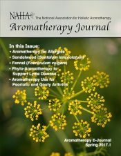 Aromatherapy E-Journal Ad for Members
