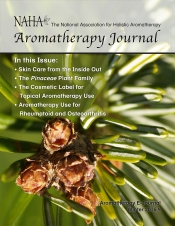 NAHA Aromatherapy Journal Winter 2016.4